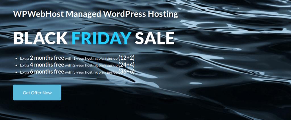 WPWebHost black friday deal 2019