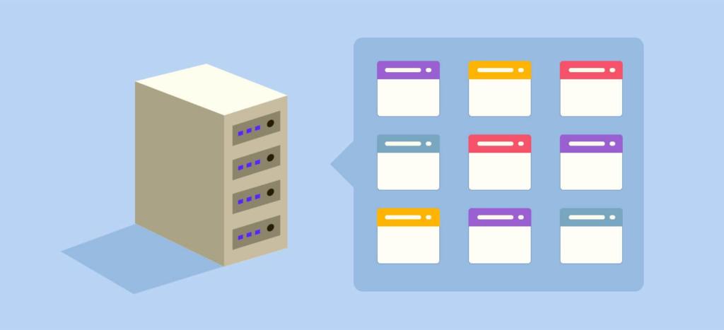 shared vs managed vs cloud vs vps hosting